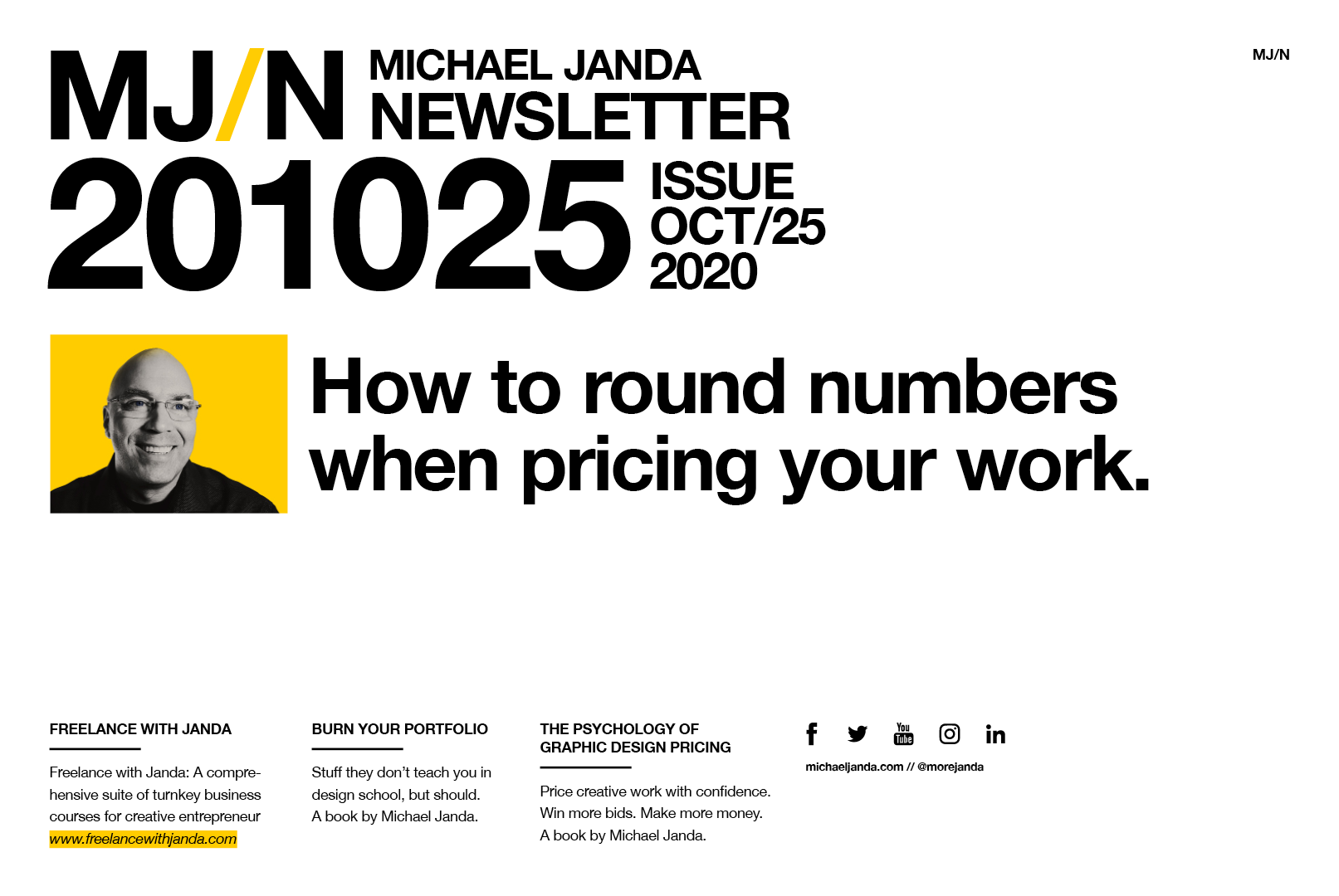 How to round numbers when pricing your work.